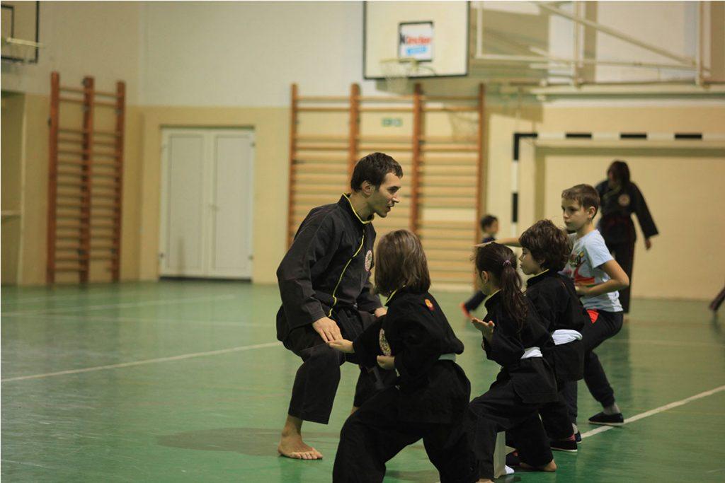 Adrian Paun - instructor Qwan Ki Do